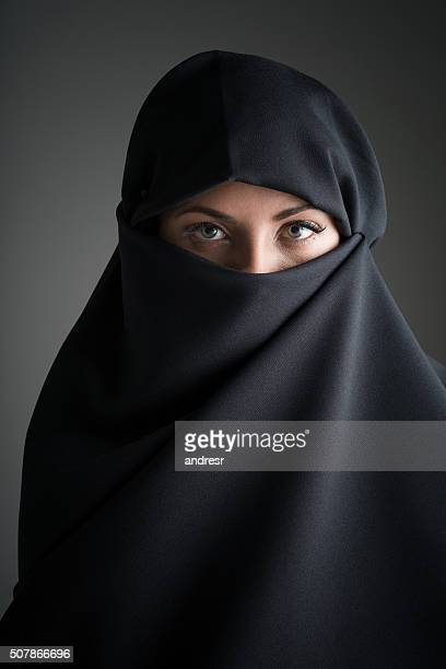 Beauty portrait of a Muslim woman