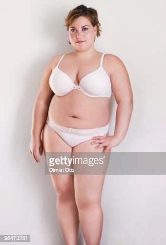 Beauty Portrait Of Young Plussize Woman Stock Photo | Getty Images