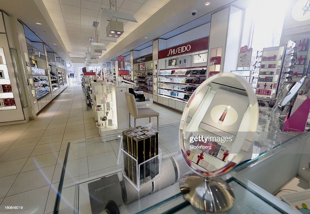Beauty products are displayed for sale at a Shoppers Drug Mart Corp. store in Toronto, Ontario, Canada, on Monday, Feb. 4, 2013. Shoppers Drug Mart Corp., Canada's largest pharmacy chain, is scheduled to release earnings data on Feb. 7. Photographer: Aaron Harris/Bloomberg via Getty Images