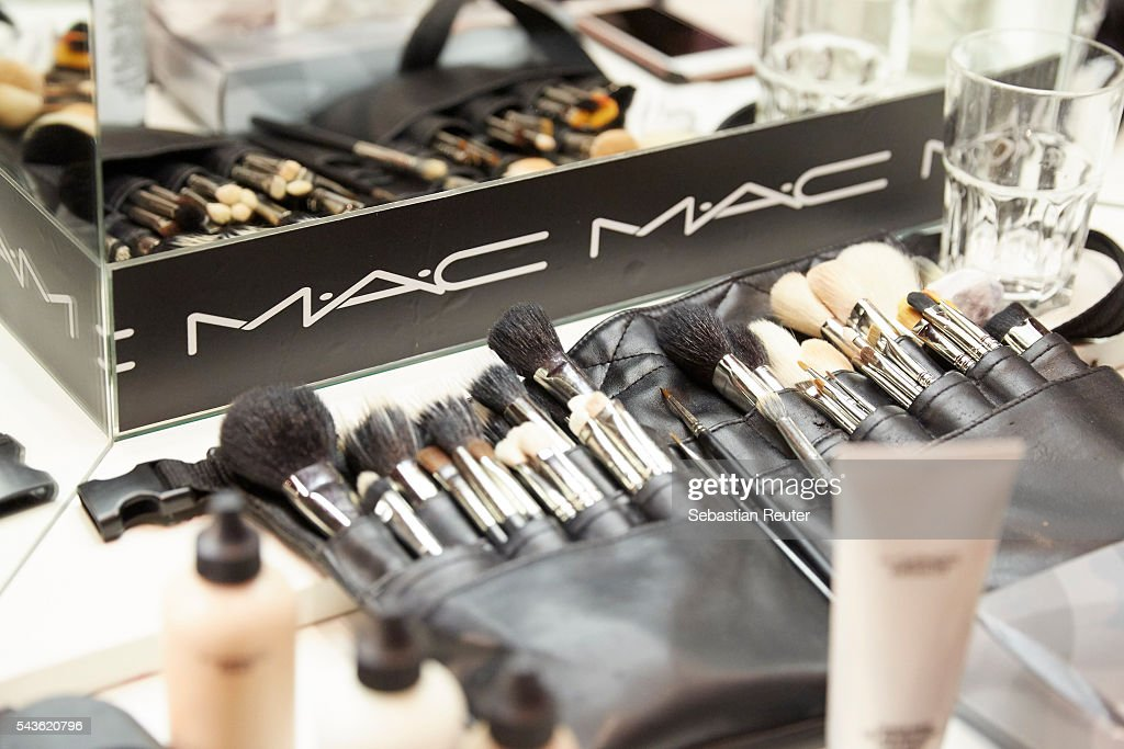 A general view of the backstage at the 0039 Italy show during the Mercedes-Benz Fashion Week Berlin Spring/Summer 2017 at Borchardt on June 29, 2016 in Berlin, Germany.
