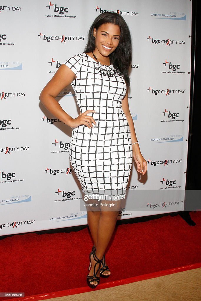Beauty queen Kamie Crawford attends Annual Charity Day Hosted By Cantor Fitzgerald And BGC at BGC Partners, INC on September 11, 2014 in New York City.