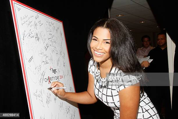 Beauty queen Kamie Crawford attends Annual Charity Day Hosted By Cantor Fitzgerald And BGC at BGC Partners INC on September 11 2014 in New York City