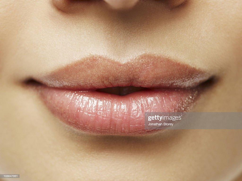 beauty Shot Lips  : Bildbanksbilder