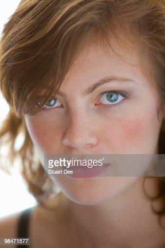 Beauty shot of woman