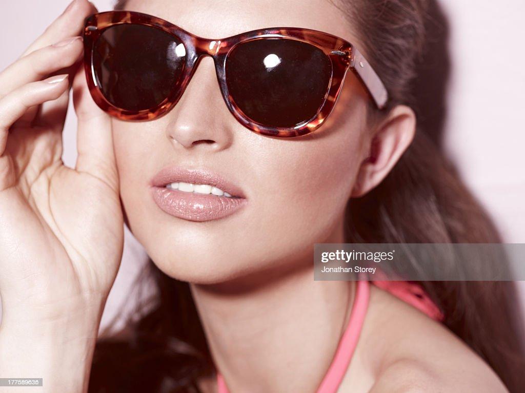 Beauty sunglasses
