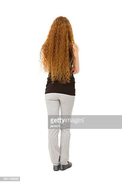 Beauté jeune femme Cheveux roux