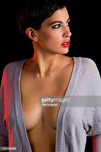 Busty Sweater Stock Photos And Pictures Getty Images
