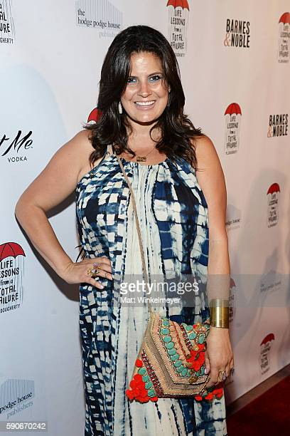 Beauty/lifestyle blogger Dawn McCoy attends MJ Dougherty's 'Life Lessons from a Total Failure' book launch party at The Sandbox on August 16 2016 in...