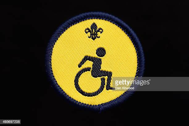 Beavers 'Disability Awareness' Activity Badge on May 15 2014 in London England The Scout Movement have recently announced a range of new badges for...