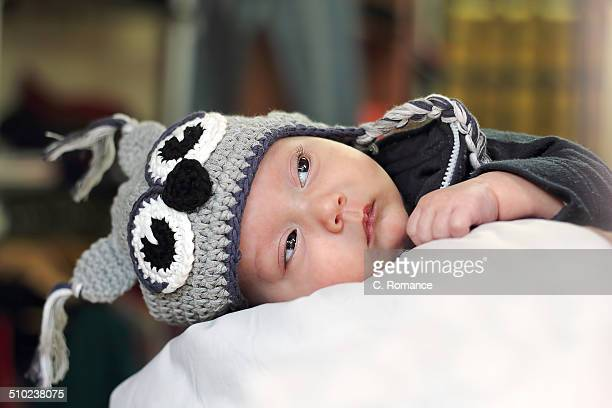 Bebé con gorro