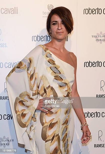 Bebe attends the opening of 'Roberto Cavalli' boutique on September 13 2012 in Madrid Spain