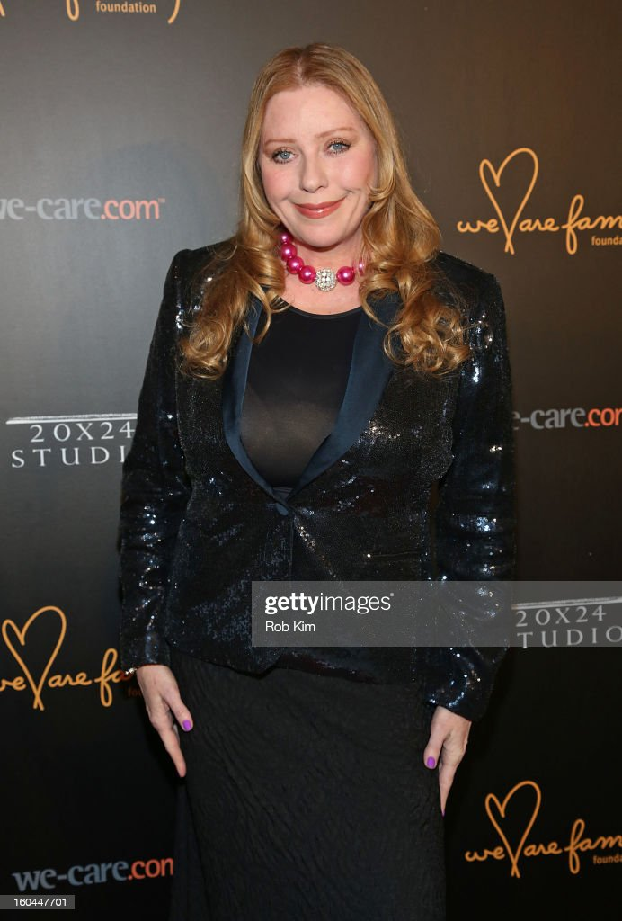 Bebe Buell attends 2013 We Are Family Foundation Gala at Hammerstein Ballroom on January 31, 2013 in New York City.