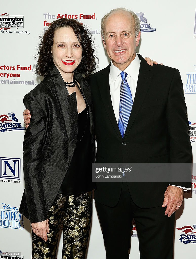 <a gi-track='captionPersonalityLinkClicked' href=/galleries/search?phrase=Bebe+Neuwirth&family=editorial&specificpeople=210769 ng-click='$event.stopPropagation()'>Bebe Neuwirth</a> and Actors Fund President and CEO Joe Benincasa attend after party for The Actors Fund Gala Celebrating 20 Years Of Disney On Broadway>> at The New York Marriott Marquis on April 28, 2014 in New York City.