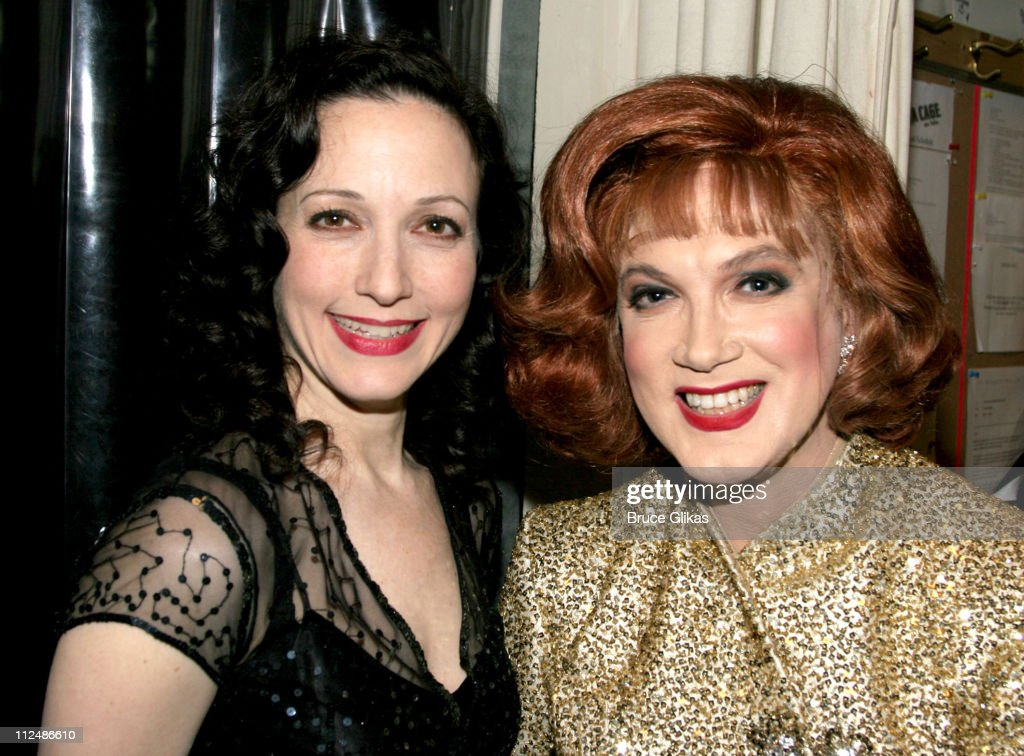 Bebe Neuwirth and Charles Busch during 'Nothing Like A Dame' 2005 Benefit at The Marquis Theater in New York City NY United States