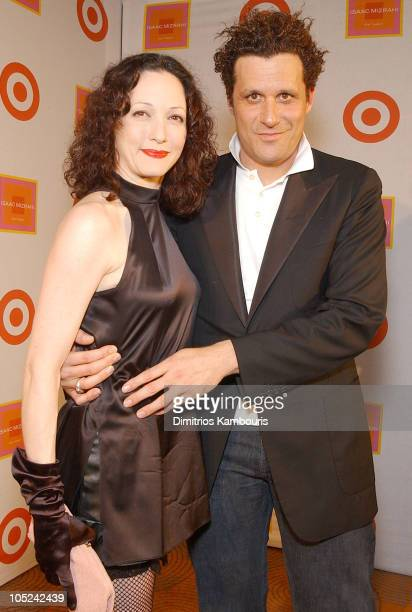 Bebe Neuwirth and Isaac Mizrahi during Isaac Mizrahi Hosts The Launch of The New Isaac Mizrahi for Target Boutique at Rainbow Room in New York City...