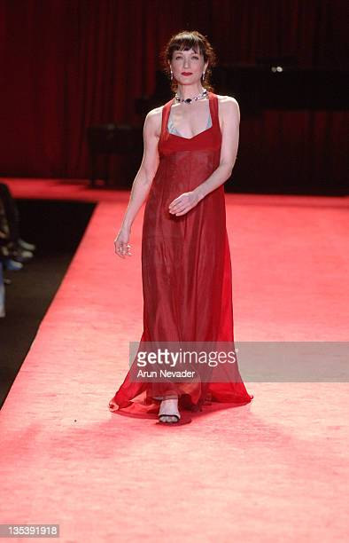 Bebe Neuwirth at Heart Truth Red Dress during Olympus Fashion Week Fall 2006 'Heart Truth Red Dress' Runway at The Tent Bryant Park in New York New...