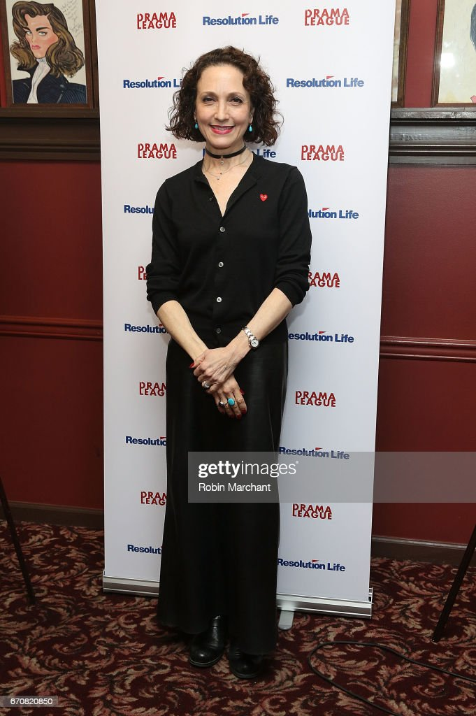 Bebe Neuwirth attends 2017 Drama League Awards Nominees at Sardi's on April 19, 2017 in New York City.