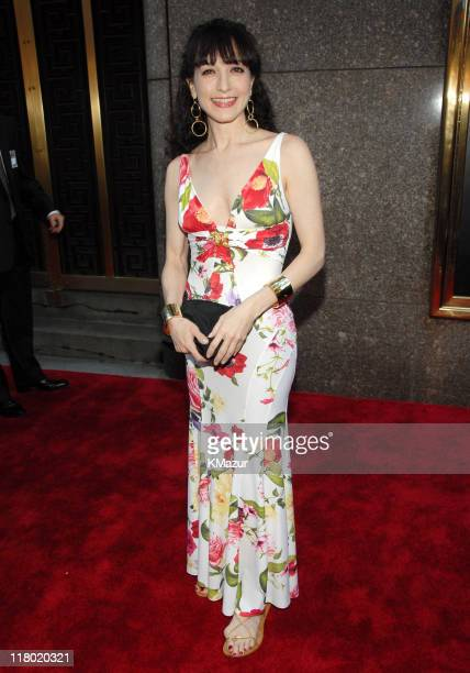 Bebe Neuwirth during 60th Annual Tony Awards Red Carpet at Radio City Music Hall in New York City New York United States