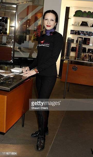 Bebe Neuwirth during Bebe Neuwirth Appears at MAC Store to Support the MAC Aids Fund on World Aids Day at MAC Flatiron Store in New York City NY...