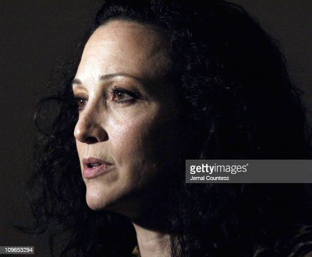 Bebe Neuwirth during Broadway's Celebrity Benefit for Hurricane Relief Backstage at The Gershwin Theatre in New York City New York United States