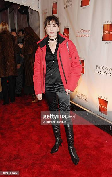 Bebe Neuwirth during Gala Opening of The JCPenney Experience on Broadway at One Times Square in New York New York United States
