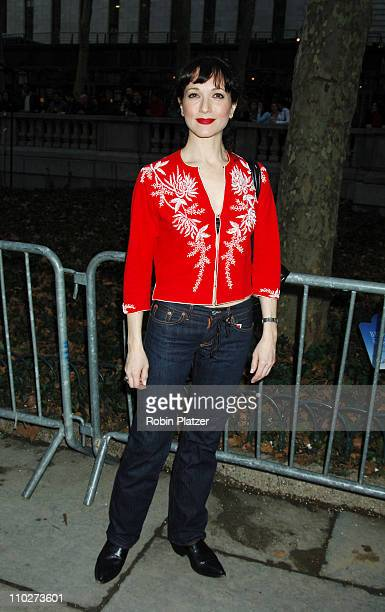 Bebe Neuwirth during The Heart Truth Red Dress Collection Fashion Show Arrivals and Departures at The Olympus Fashion Week in New York New York...