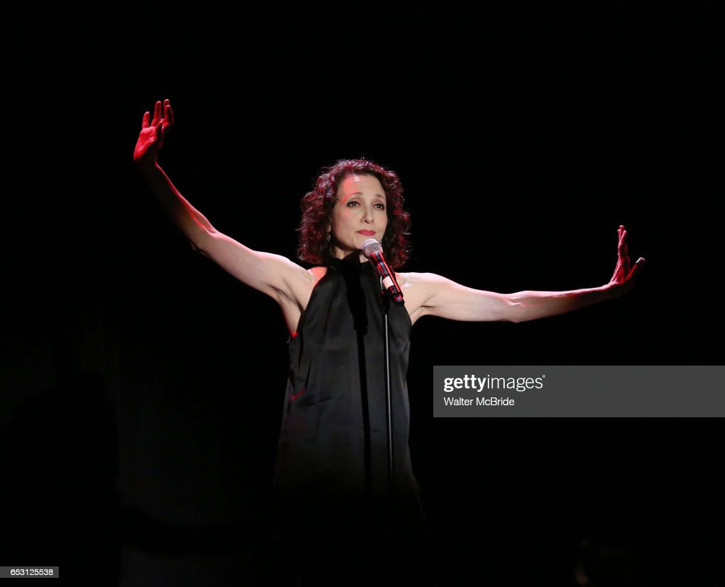 Bebe Neuwirth performing at the Vineyard Theatre 2017 Gala at the Edison Ballroom on March 13, 2017 in New York City.
