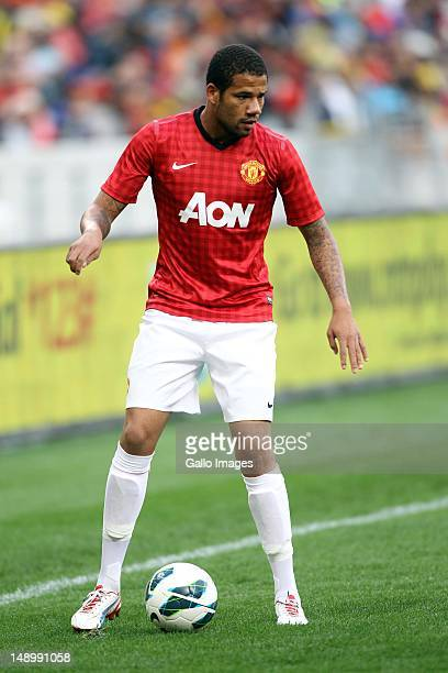 Bebe of Manchester United during the MTN Football Invitational match between Ajax Cape Town and Manchester United at Cape Town Stadium on July 21...