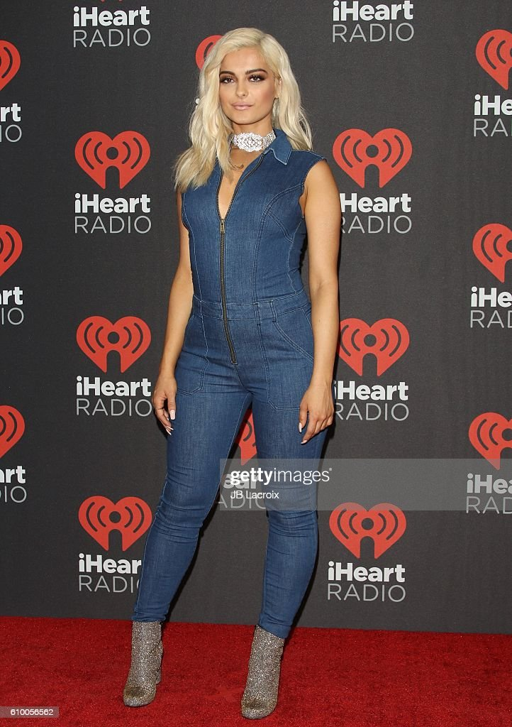 Bebe Rexha attends the 2016 iHeartRadio Music Festival Night 1 at T-Mobile Arena on September 23, 2016 in Las Vegas, Nevada.