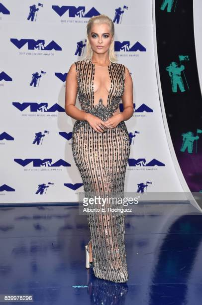 Bebe Rexha attends the 2017 MTV Video Music Awards at The Forum on August 27 2017 in Inglewood California
