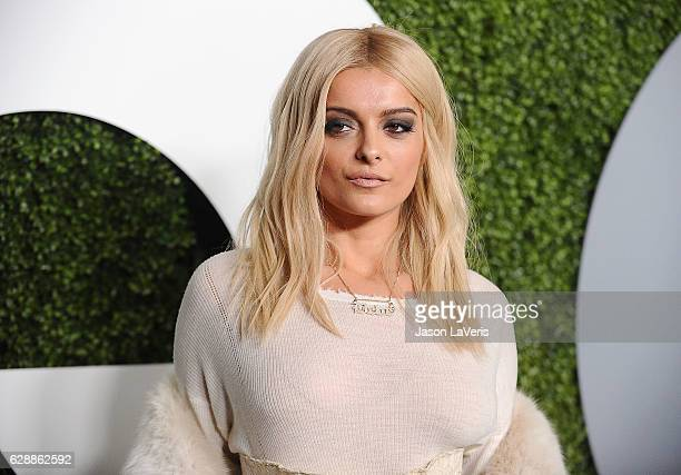 Bebe Rexha attends the GQ Men of the Year party at Chateau Marmont on December 8 2016 in Los Angeles California