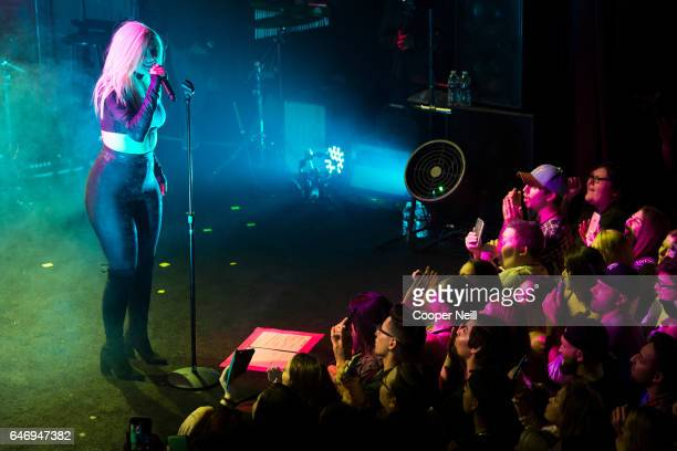 Bebe Rexha performs at Trees on March 1 2017 in Dallas Texas