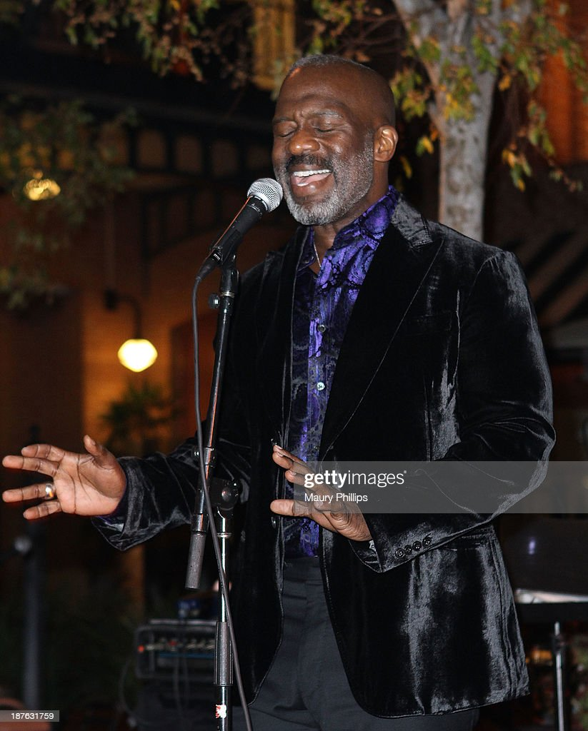 <a gi-track='captionPersonalityLinkClicked' href=/galleries/search?phrase=BeBe+Winans&family=editorial&specificpeople=1185312 ng-click='$event.stopPropagation()'>BeBe Winans</a> performs during '12 Angry Men' at the Pasadena Playhouse on November 10, 2013 in Pasadena, California.