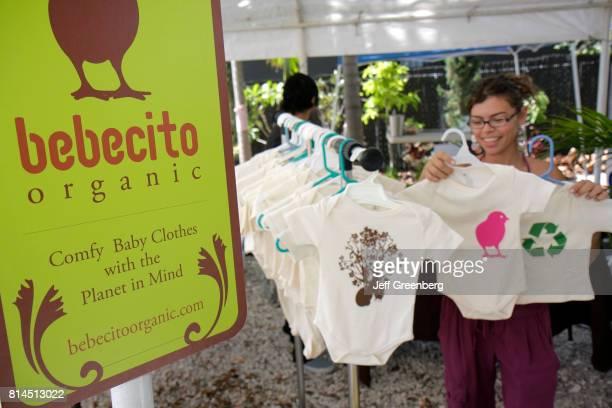 Bebecito organic vendor at the Cinco de MiMo Festival