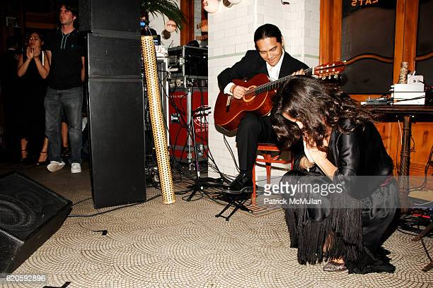 Bebel Gilberto attends Private Dinner hosted by CARLOS JEREISSATI CEO of IGUATEMI at Pastis on September 6 2008 in New York City