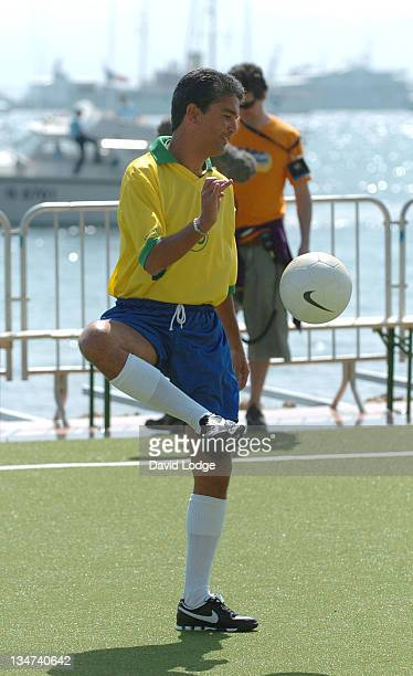 Bebeto during 2006 Cannes Film Festival Brasilian World Cup Winners Photocall in Cannes France