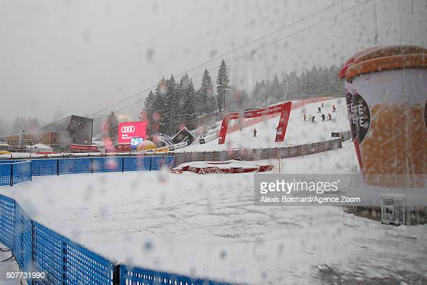 Because of the bad weather conditions the FIS has cancelled the Audi FIS Alpine Ski World Cup Men's Giant Slalom on January 31 2016 in...