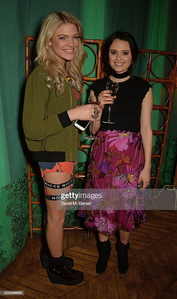 <a gi-track='captionPersonalityLinkClicked' href=/galleries/search?phrase=Becca+Dudley&family=editorial&specificpeople=10135194 ng-click='$event.stopPropagation()'>Becca Dudley</a> and Venetia Falconer attend Urban Decay VIP dinner #UDinWonderland at Sketch on April 28, 2016 in London, England.
