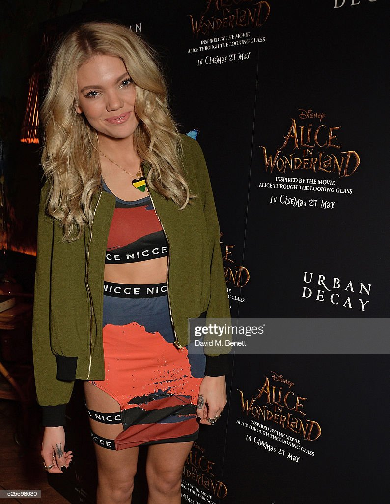 <a gi-track='captionPersonalityLinkClicked' href=/galleries/search?phrase=Becca+Dudley&family=editorial&specificpeople=10135194 ng-click='$event.stopPropagation()'>Becca Dudley</a> attends Urban Decay VIP dinner #UDinWonderland at Sketch on April 28, 2016 in London, England.