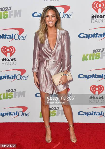 Becca Tilley attends 1027 KIIS FM's Jingle Ball 2017 presented by Capital One at The Forum on December 1 2017 in Inglewood California
