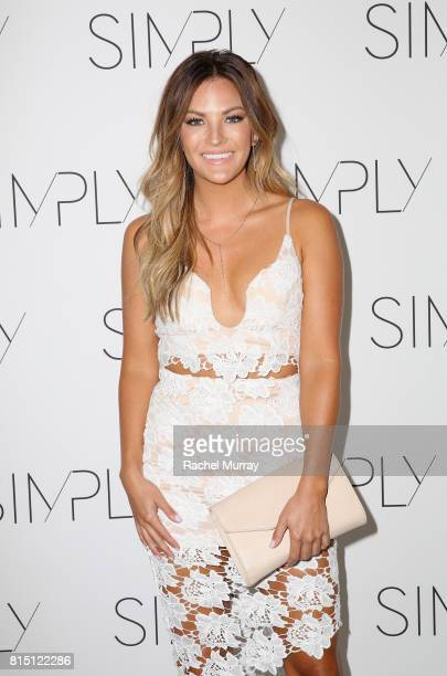 Becca Tilley attends SIMPLY Los Angeles Fashion Beauty Conference Powered By NYLON at The Grove on July 15 2017 in Los Angeles California