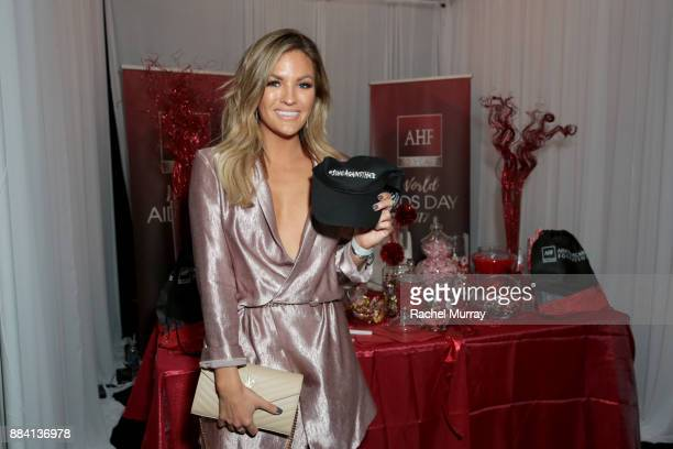 Becca Tilley attends the 1027 KIIS FM Artist Gift Lounge at 1027 KIIS FM's Jingle Ball 2017 presented by Capital One at The Forum on December 1 2017...