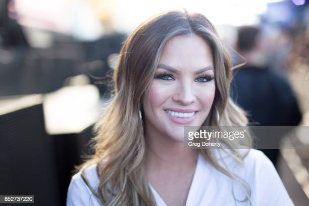 Becca Tilley attends the 2017 Daytime Village At The iHeartRadio Music Festival at TMobile Arena on September 23 2017 in Las Vegas Nevada