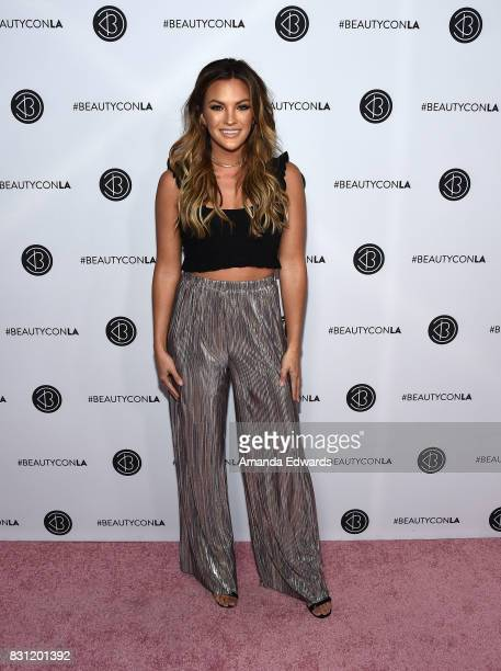 Becca Tilley attends the 5th Annual Beautycon Festival Los Angeles at the Los Angeles Convention Center on August 13 2017 in Los Angeles California