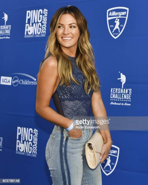 Becca Tilley attends the 5th Annual Ping Pong 4 Purpose on July 27 2017 in Los Angeles California