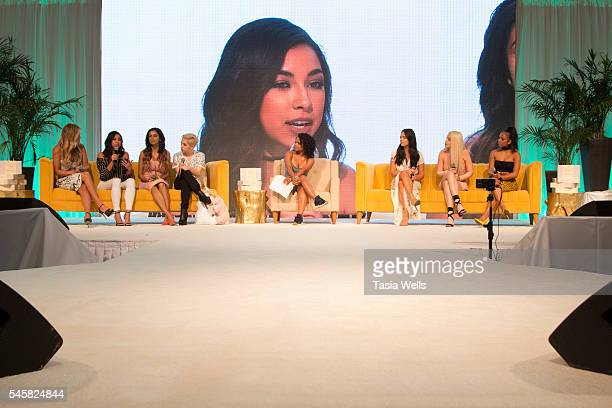 Becca Tilley Jeanine Amapola Jackie Hernandez YouTube personality Brendan Jordan singersongwriter Christina Milian Claudia Sulewski Tana Mongeau and...