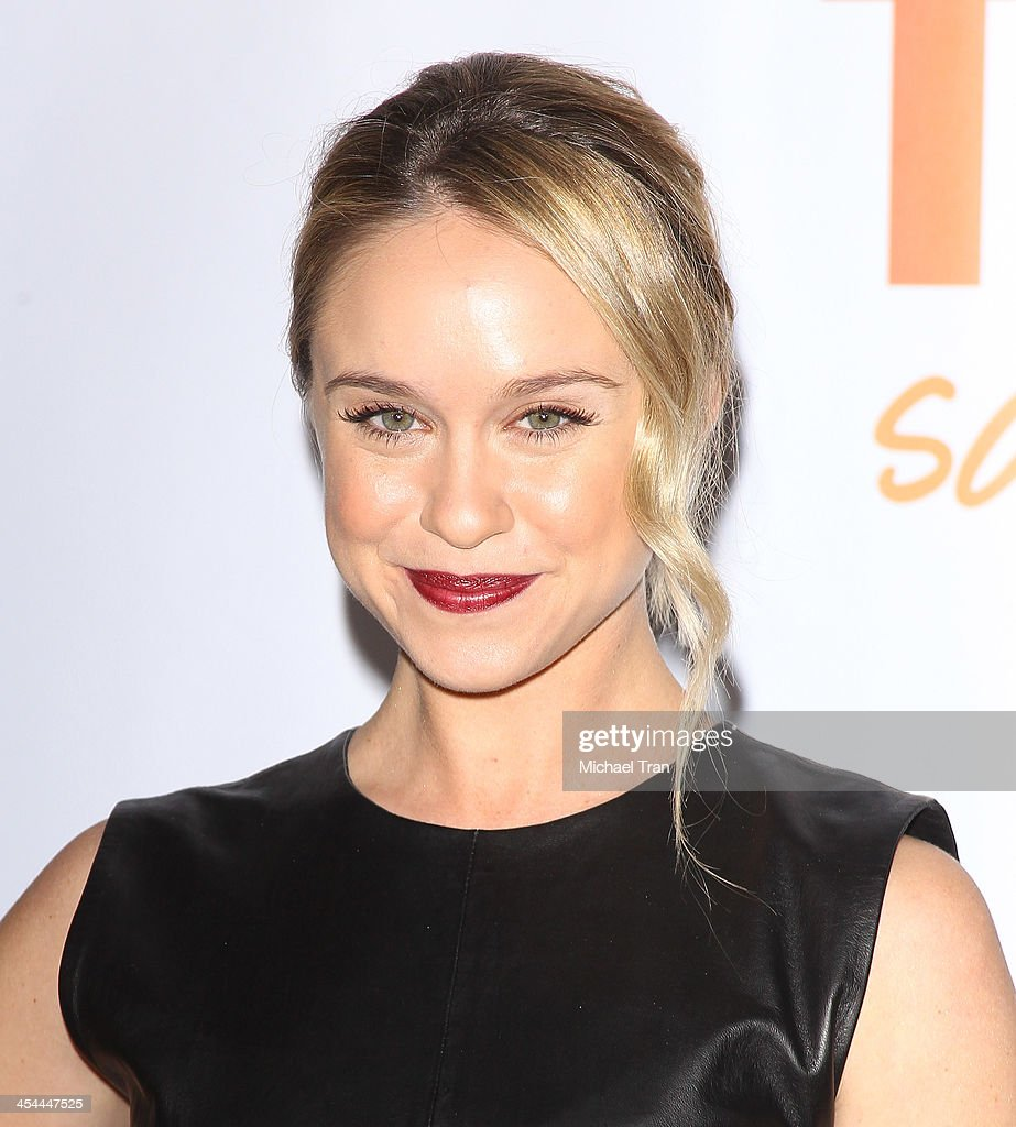 Becca Tobin arrives at the 15th Annual Trevor Project Benefit held at Hollywood Palladium on December 8 2013 in Hollywood California