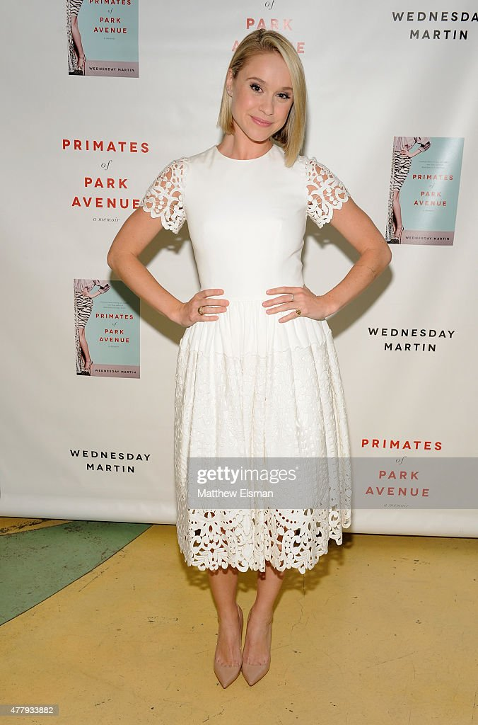 Becca Tobin attends 'Primates of Park Avenue' by Dr. Wednesday Martin Release Event at the Children's Museum of the East End on June 20, 2015 in New York City.