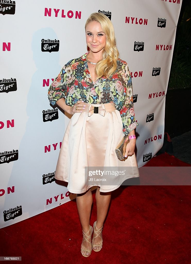 Becca Tobin attends the NYLON Magazine Annual May Young Hollywood Issue Party at The Roosevelt Hotel on May 14, 2013 in Hollywood, California.