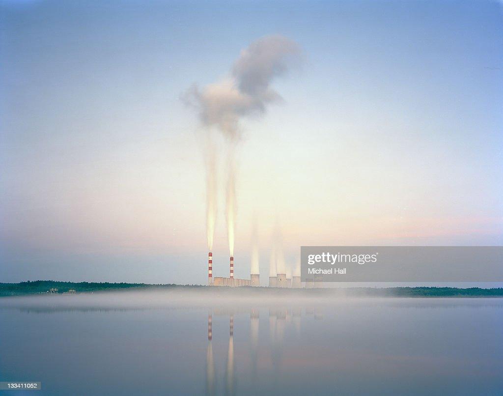 Be?chatów coal plant : Stock Photo